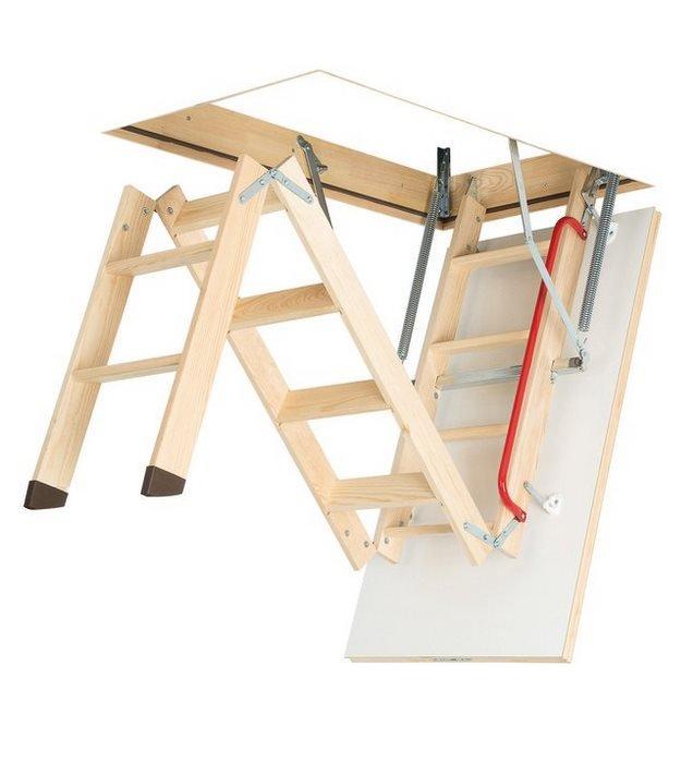 Fakro wooden loft ladder