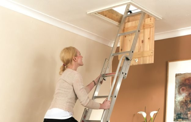 Loft ladders for sale and installation throughout the North East