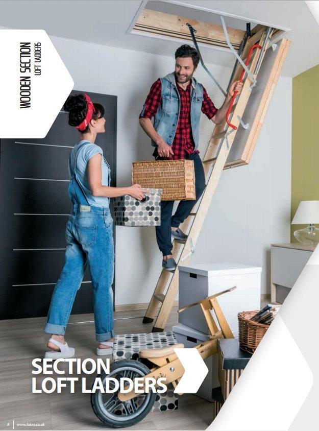 Fakro wooden loft ladders